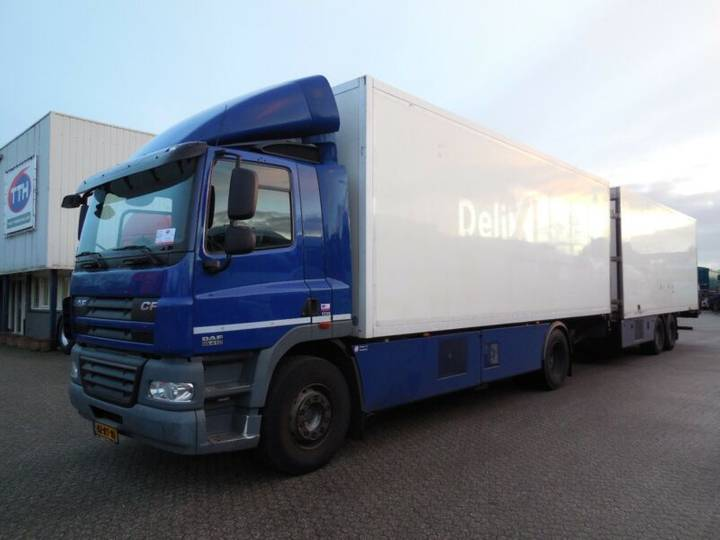 DAF CF85.410 NL Truck Euro5 EEV Refridgerator - 2012