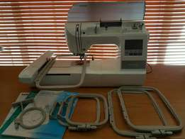 Brother 750 e embroidery machine