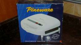 Brand New Pineware Snackwich Toaster