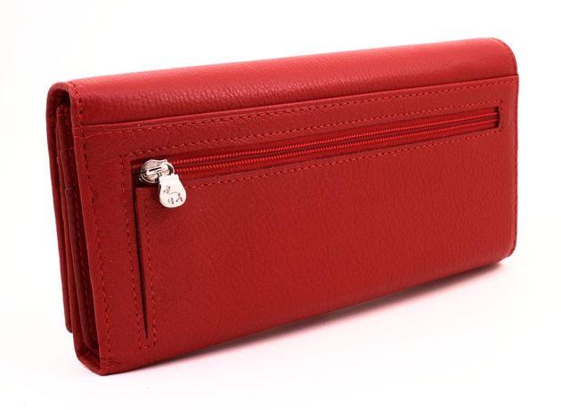 7679b8f96d4d Женские кошелек на магнитах с блоком для карточек красный и черный. Киев -  изображение 2