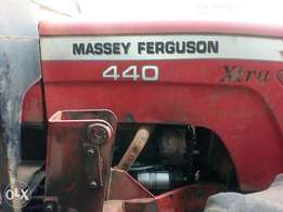 Massey Ferguson 440 Xtra with four wheel.