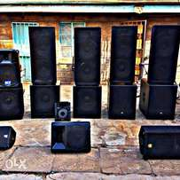 Public address system for events
