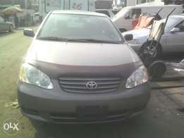 Just landed Tokunbo Toyota Corolla