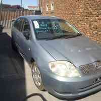 2003 Toyota corolla spares for sale