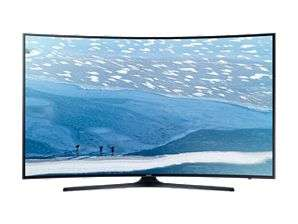 "55"" UHD 4K Curved Smart TV KU7350 Series 7 Nairobi CBD - image 1"