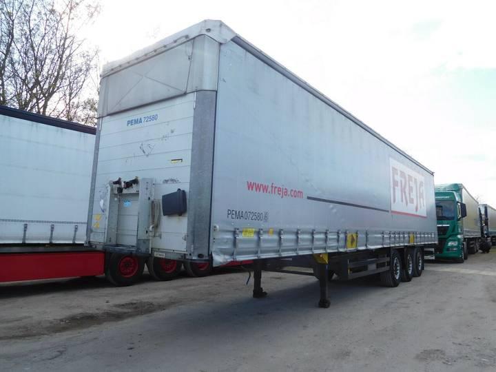 Schmitz Cargobull S01 Joloda   Hubdach  Stahlrungen XL Code - 2013