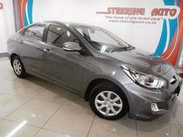 2014 hyundai accent 1.6 an economical family sedan in showroom cond