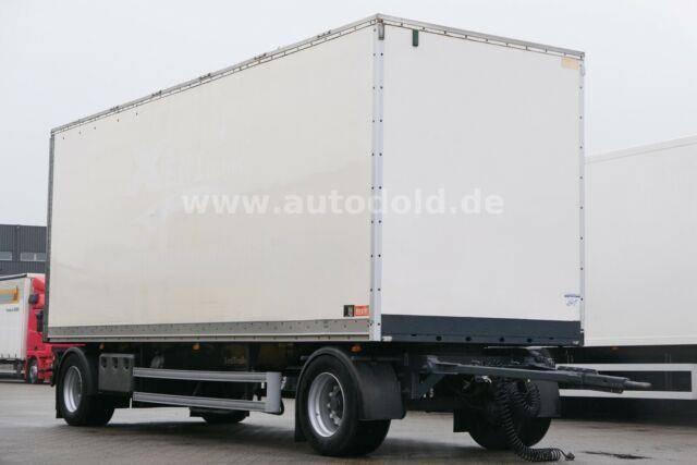 Lecitrailer Koffer Rolltor Scheibenbremsen BWP Eco L: 7,70 m - 2010