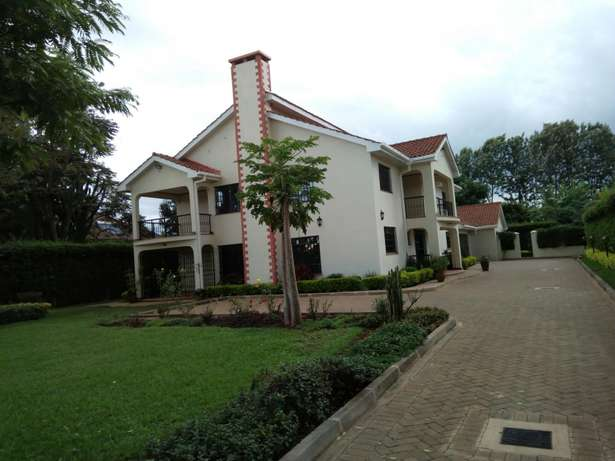 Posh 6Br Maisonette to Let in Muthaiga North Muthaiga - image 1