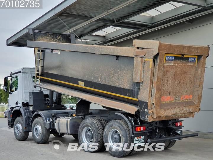 Mercedes-Benz Arocs 4145 S 8X4 Big-Axle Steelsuspension 27m3 Hydraulik ... - 2018 - image 5