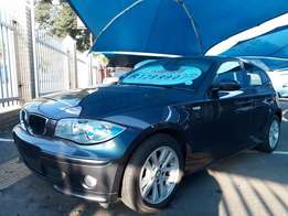 2007 BMW 120d Automatic with 105 000km with full service history&book