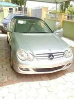 Foreign used 2006 Mercedes Benz CLK 350 convertible