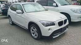 Freshly imported clean BMW x1 pale white 2010 model. KCP
