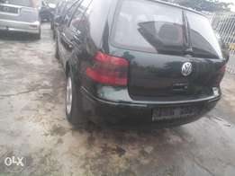 tokunbo 2004,golf4,accidet free,leathr seat,auto drive