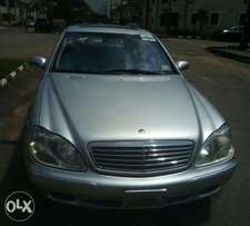 For sale Mercedes Benz S500 clean Tokunbo full option 2.650m