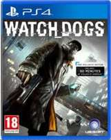 PS4 GAMES - Watchdogs 1 & Assassins Creed Black Flag