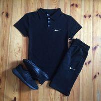 5d596a74 Футболка поло + шорты барсетка Nike! Летний спортивный костюм мужской!