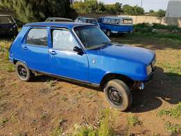 Renault 5 stripping for spares