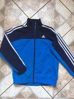 Wiosenna sportowa kurtka Adidas 110 czerwona Pogwizdów • OLX.pl