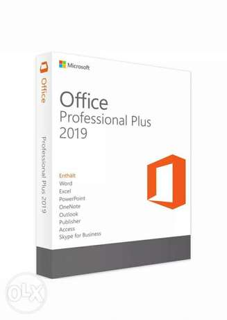Microsoft professional plus office 2019... Or 365office