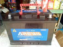 Arewa battery 75ah