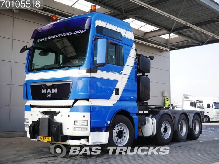 MAN TGX 41.680 XXL 8X4 WSK 250t Push&Pull Euro 5 Intarder - 2008