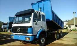 Having problems with hydraulics the truck cant tip