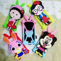 New Fashion Cartoon Rubber Phone Cases For Phones