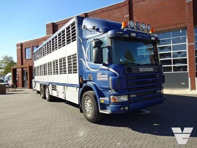 Scania P94-310 6x2*4 2stock Livestock - 2001