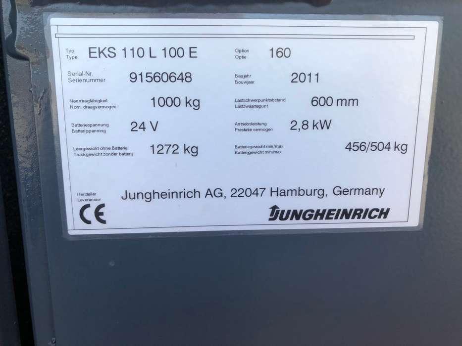 Jungheinrich EKS 110L 100 E Pallettruck - image 18