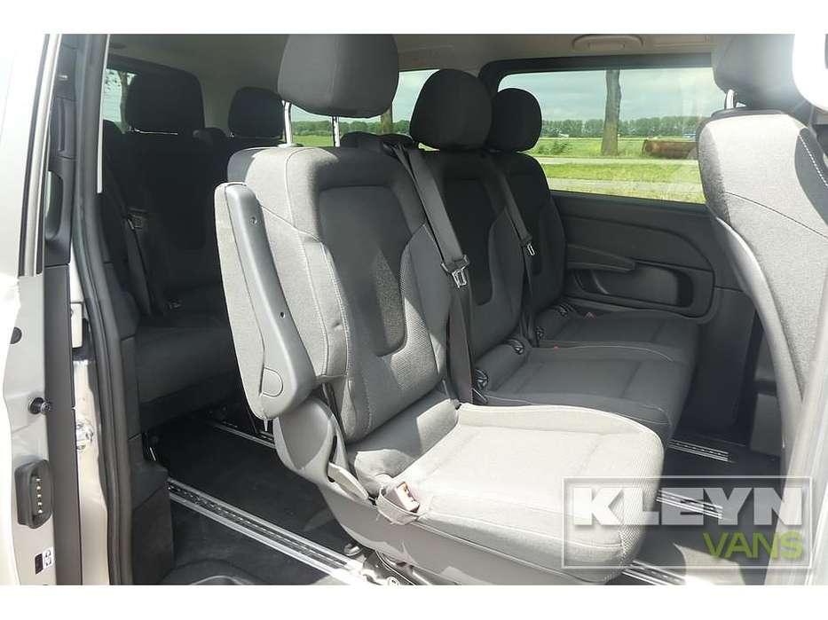 Mercedes-Benz V-KLASSE 220 CDI lang led 8-persoons - 2018 - image 7