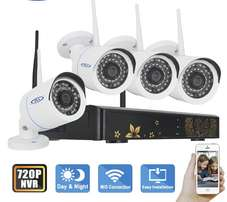 Ip camera set of 4 camera kit at lowest price ever