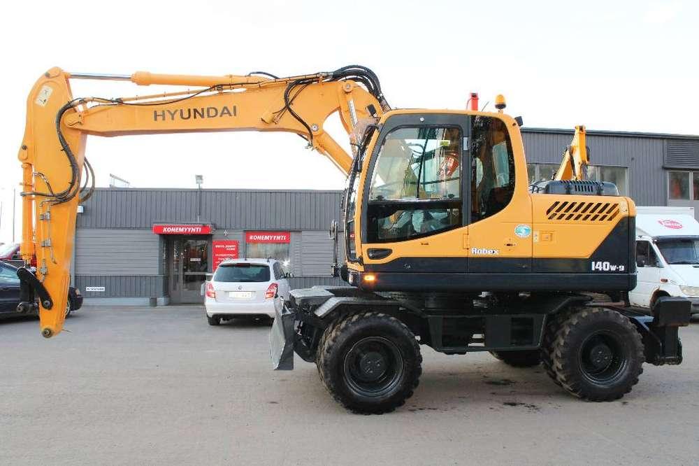 Hyundai Robex 140 W-9 - 2012