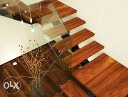 Wood Tread staircase (Latest Staircase)