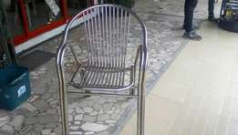 New imported stainless chair