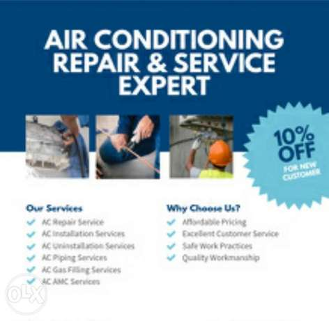 10% off in AC maintenance price