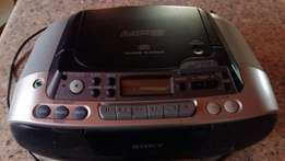 Sony radio and cd player