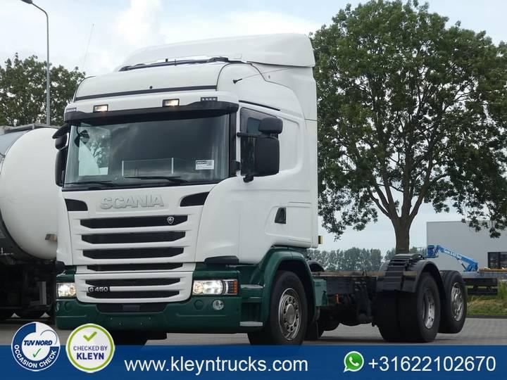 Scania G450 6x2*4 - 2014