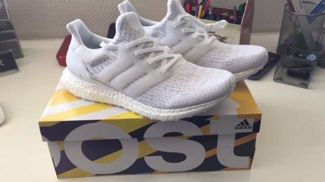 Adidas Ultra Boost 3.0 Triple while UK8 Sandton - image 1