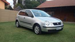 Volkswagen Polo 1.4i with only 117000km and full service history,