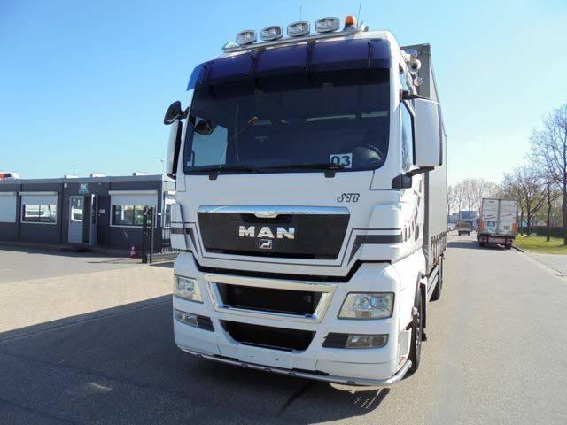 MAN TGX 18.480 (EURO 5 - RETARDER - FRIDGE) - 2011
