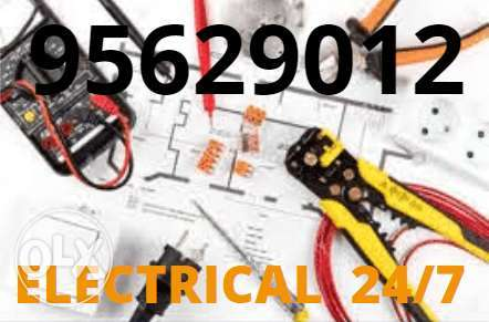 For any electric and plumbing issue you contact us whenever you face.