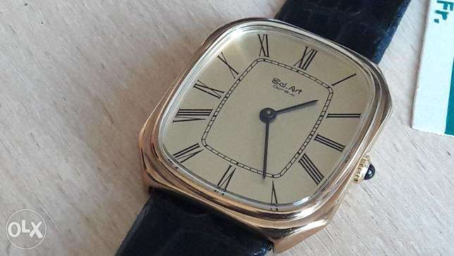 Vintage New Swiss Bel-Art manual men's watch from 1970-80's