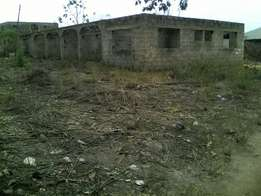2 Plots of Land with Twin 2 Bedroom Flat