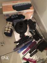 Electric curlers and brushes