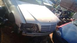 Striping Mercedes C230 for spares