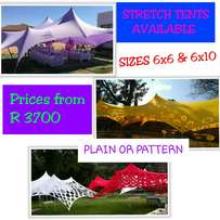Stretch Tents for sale - starting from R 3700