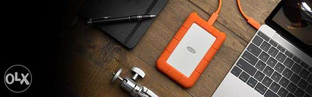 LaCie Rugged USB-C and USB 3.0 2TB Portable Hard Drive Westlands - image 5