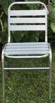Chair Aluminium stackable for sale for Ksh 1800 only / new