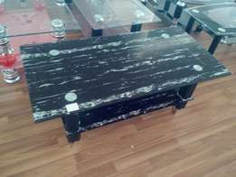 Very highly quality coffee tables, with tempered glass tops